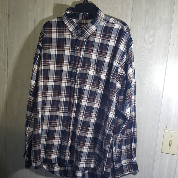 076079155 Hobbs Creek Shirts | Plaid Flannel Shirt Size Xl | Poshmark